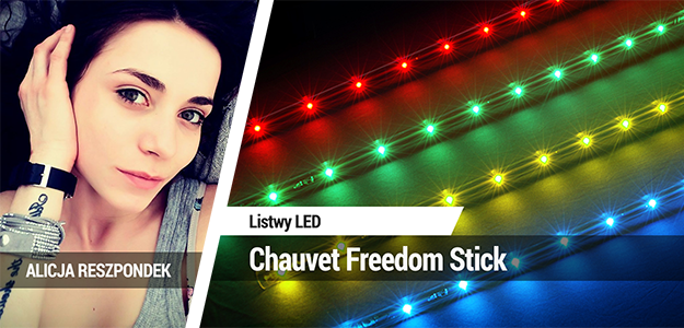 Listwy LED Chauvet Freedom Stick