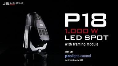 JB-Lighting P18 1000W LED SPOT